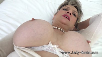 Lady Sonia is fucking a member of her site in pov