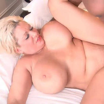 Claudie Marie gets surprised with a black cock