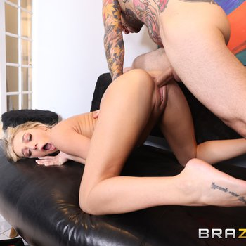 Hot bitch Tiffany Watson bends over for deep fuck