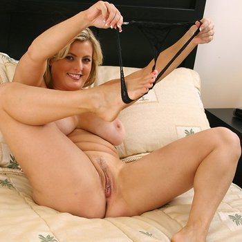 Kala Prettyman removes panties and shows snatch