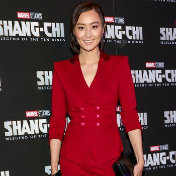 Sexy actress Fala Chen poses on the red carpet as she arrives