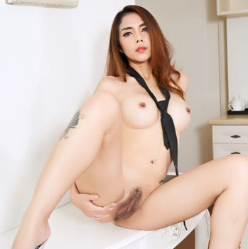 Busty Asian teases with her amazing hairy pussy