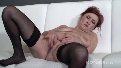 Emily Devine playing with her pussy