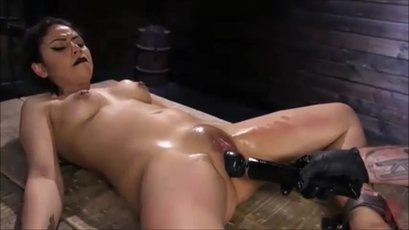 Rose Darling tied up and punished