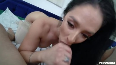Sheena Ryder having fun with a cock in POV