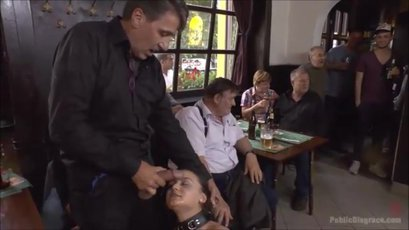 Anina Silk and Steve Holmes have sex in public