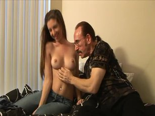 After he licks her pussy clean, Ed proceeds to fill Alexa Jones up.