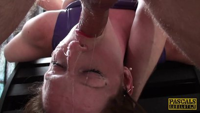 Dominatrix Vivienne L'Amour whipped, and fucked in her own dungeon
