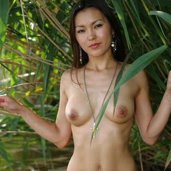 Agnes in some water showing off tight body