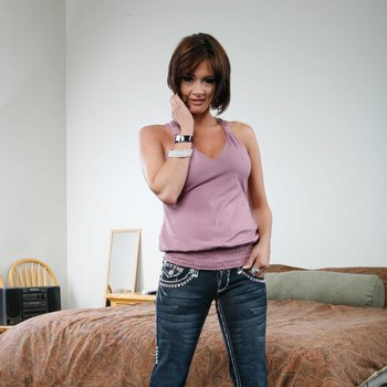 Amazing bitch Tory Lane takes on two cocks and loves it