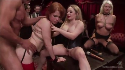 Penny Pax, Aiden and Layla having rough sex