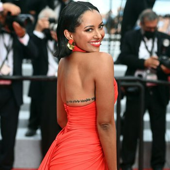 Kat Graham les intranquilles screening at the 74th Cannes film festival