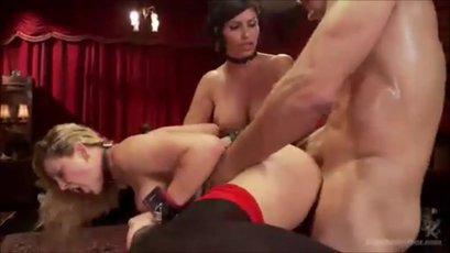 Cherie DeVille & Shay Fox enslaved and ass-fucked