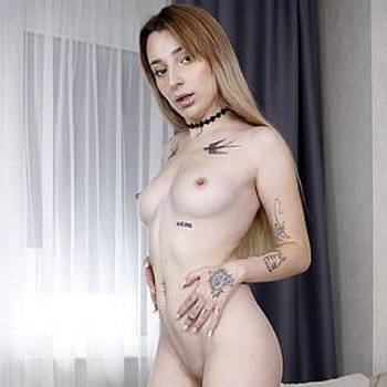 Naughty Lana Love takes a cock in her pussy and her ass at the same time