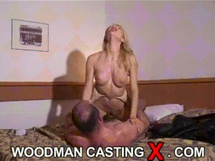 Blonde babe riding a cock gets fucked hard