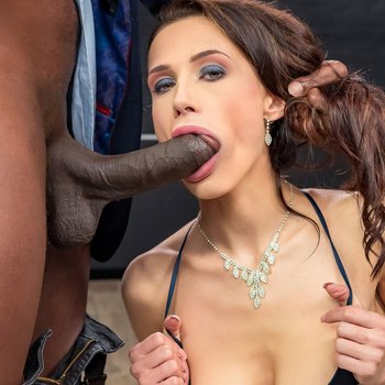 Nicole Love gets her ass plugged with black shaft
