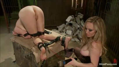 Penny Pax and Aiden Starr having wild BDSM fucking