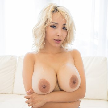 Lauren Pixie gets her big jugs covered with spunk