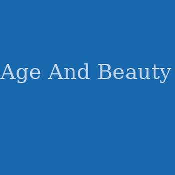 Age And Beauty