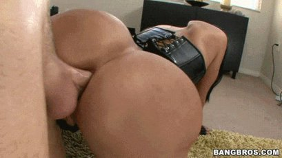 Ava Addams taking a cock up her tight asshole