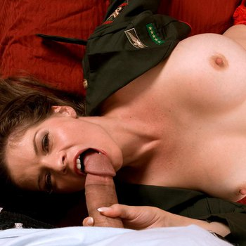 Stacked June Summers sits on top of a huge Cock