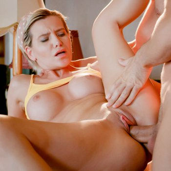 Subil Arch makes a dick disappear in her pussy