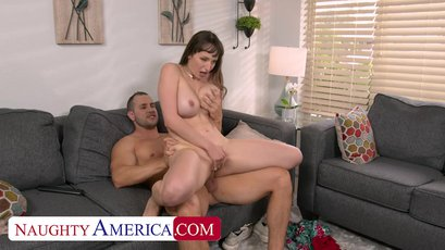 Lexi Luna gets some big cock from another man