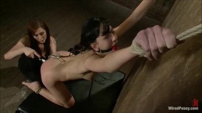 Elisa Graves dominated & fucked by Princess Donna