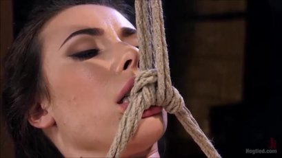 Hot Casey Calvert gets bonded and toyed real hard
