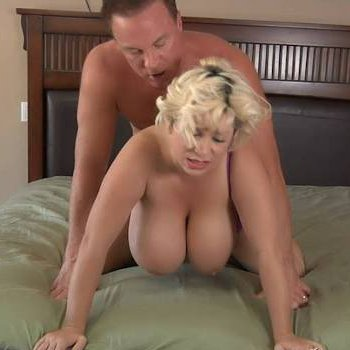 Busty Claudia Marie gets fucked from behind