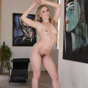 Smoking hot MILF Riley Reyes showing off her hairy pussy