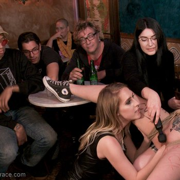Liz Rainbow gets tormented by Cadence Lux
