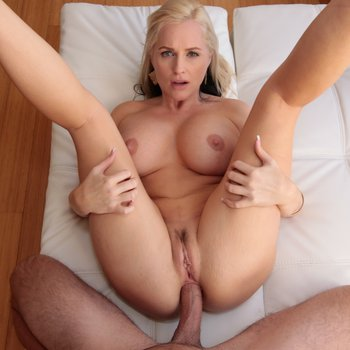 Hot, busty blonde Alena Croft has her ass fucked