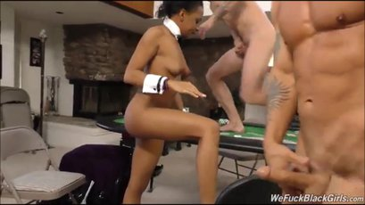 JazzyJamison getting fucked in group sex