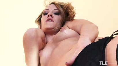 Upskirt with the stunning and horny Blue Angel