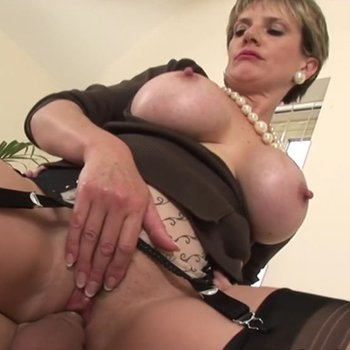 Lady Sonia on a chair getting ruined hard