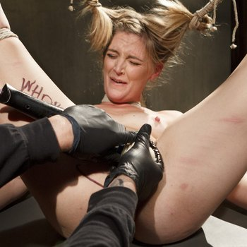 Submissive Mona Wales getting punished hard