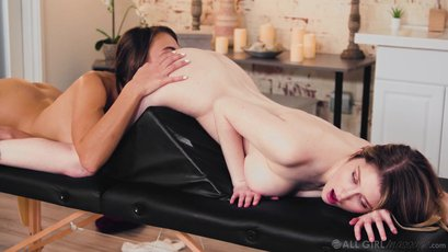 Gia Derza and Bunny Colby have nice oral sex