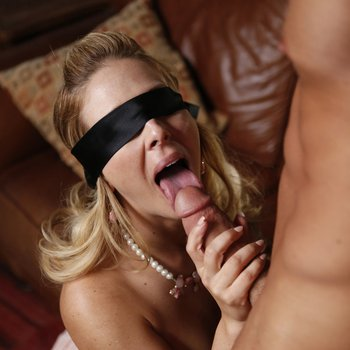 Wld and masked blonde cougar Cherie DeVille getsshagged by two guys