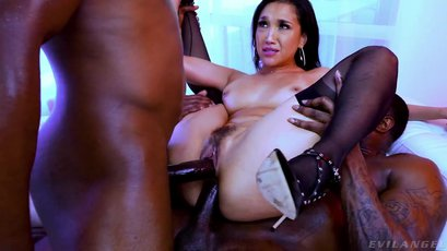 Incredible Vicki Chase have double penetration