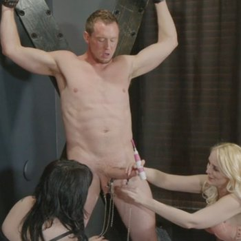 Lily Lovecraft and her friend having fun with guy