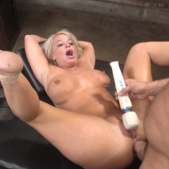 Slutty blond London River gets dominated & fucked