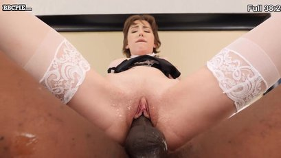Teen Tristan Summers fucked and creamed by a BBC
