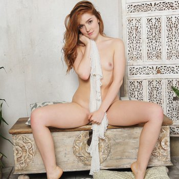 Jia Lissa showing her tiny tits and hot pussy