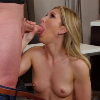Paige Owens takes a cock in her hairy pussy