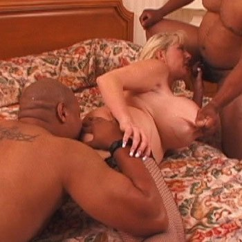 Kayla Kleevage wants more than one black cock