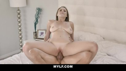 Busty Skylar Snow is desperate to be impregnated